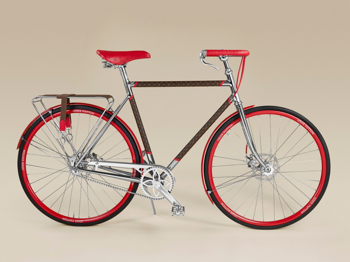 [BrandConnection] The new Louis Vuitton x Maison Tamboite bike is one of the most amazing creations between 2 exceptional brands!